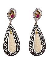 Agarwalbentex Gold-Plated Dangle & Drop Earring For Women (Gold)