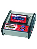 Great Plane ElectriFly Triton EQ AC/DC Charger, Discharger, and Cycler with Built-In Equalizer
