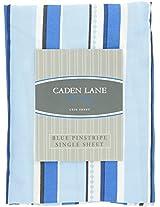Caden Lane Luxe Collection Pinstripe Single Sheet, Boy