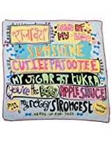 Cutie Patootie Bed Cover-Large