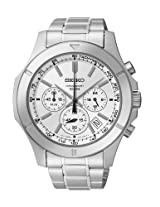 Seiko Analog Silver Dial Men 's Watch - SSB099P1
