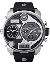 Diesel Sba Oversized Ana-Digi Leather Mens Watch Dz7125