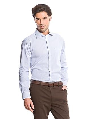 Cortefiel Camisa Clásica Rayas (Azul)