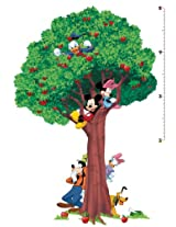 Roommates Mickey and Friends Peel and Stick Growth Chart (Multi-Color)