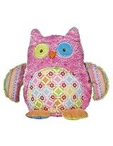 "Mary Meyer Cheery Cheeks 12"" Hootie Hoots Owl Plush"