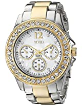 XOXO Women's XO5653 Two-Tone Bracelet Analog Watch