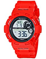 Armitron Sport Men's 40/8295RED Red Resin Digital Watch