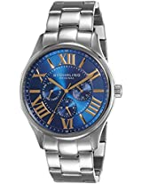 Stuhrling Original Symphony Analog Blue Dial Men's Watch - 391G.03