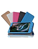 Elite Premium Flip Case Cover for HP 7 Voice Tablet Tab (Blue) (Magnetic Closure)