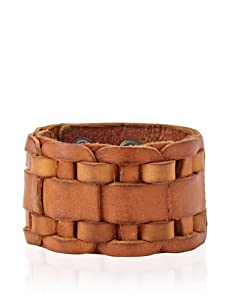 Will Leather Goods Unisex En Route Leather Cuff (Saddle)