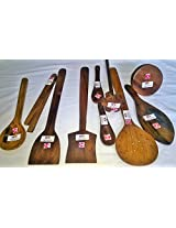 ARMAN SPOONS- Believe in Quality wooden spoons pack of 10
