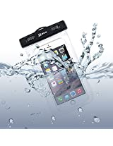 Waterproof Case, JETech Universal Waterproof Case Bag Pouch for iPhone 6s, iPhone 6s Plus, iPhone 6/5/4, Samsung Gaxaly Note 5/4/3/2, S6 Edge, S6, S5, S4, HTC, and other upto 6 Inch Smartphones