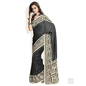 Warli Printed Jute Silk Saree