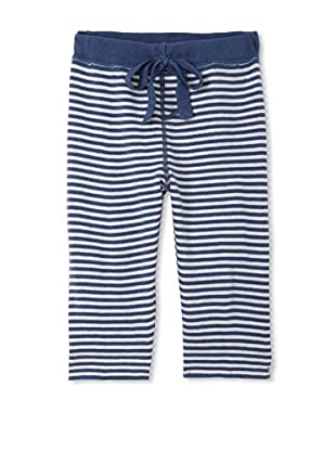 Neige Baby Harlon Striped Pants (Prussian/Oatmeal)