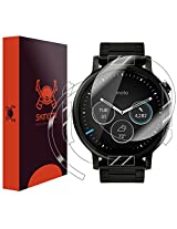 Skinomi® TechSkin - Motorola Moto 360 46mm Screen Protector (2nd Gen 2015) + Full Body Skin w/ Lifetime Warranty / Front & Back HD Clear Film / Ultra High Definition & Anti-Bubble Shield