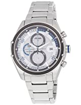 Citizen Eco-Drive Analog White Dial Men's Watch - CA0120-51A