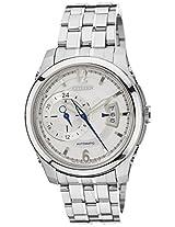 Citizen Analog White Dial Men's Watch - NP3000-54A