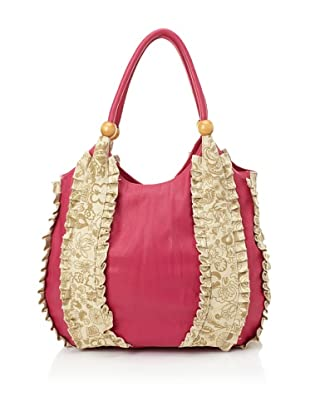 amykathryn Rose Carry-All Shoulder Bag (Magenta)