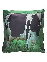 Twisha Cow Pillow 12 X 12 X 4 Inch