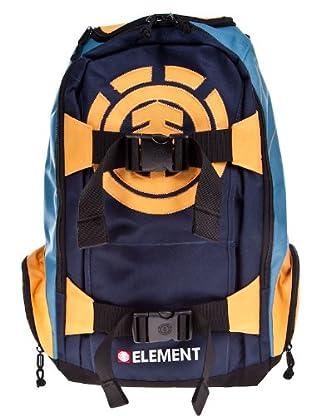 Element Mochila (naranja / azul)