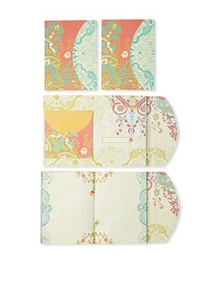 Mudlark Set of 4 Journals, Turquoise