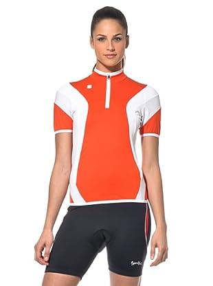 Sportful Mallot Bike Anakonda (Rojo/Blanco)