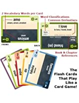 Latin Clash Cards: Latin for Children, Primer A (High Frequency, lvl 1)