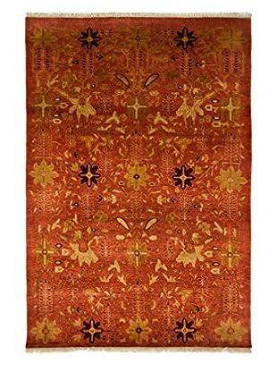 Darya Rugs Ottoman Oriental Rug, Rust, 4' 1