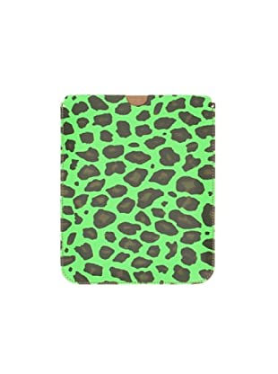 Satchel Bag Funda Ipad (print verde)