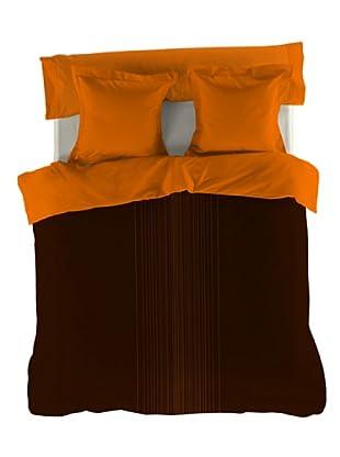 Reig Marti Funda Nórdica Fil (Marrón / Naranja)