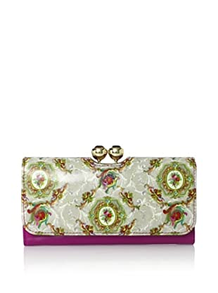 Ted Baker Women's Seleny Matinee Purse, Silver/Purple