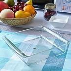 Borosil Easy Grip Square Dish, 2.3 Litres
