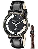 Stuhrling Original Classic Analog Black Dial Men's Watch - 388G2.SET.04
