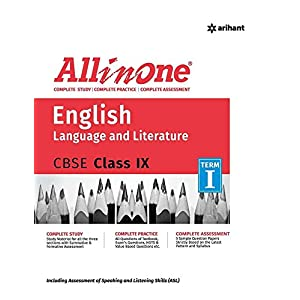 All In One English Language & Literature CBSE Class 9th Term 1
