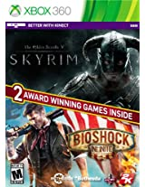 The Elder Scrolls: V:Skyrim & Bioshock Infinite Bundle - Xbox 360