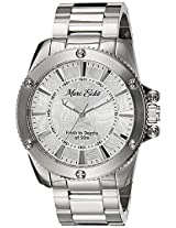 Marc Ecko Fashion Analog Silver Dial Men's Watch - E16583G2