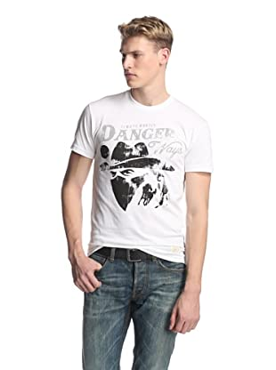 Kinetix Men's Danger Ways Tee Shirt (Bone)