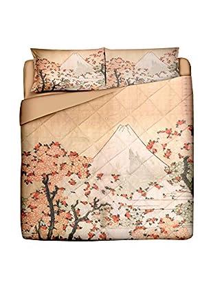 JAPAN MANIA by MANIFATTURE COTONIERE Steppdecke Fuji