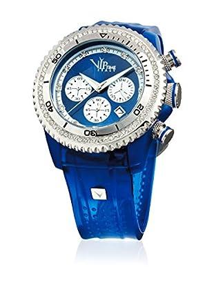 Vip Time Italy Uhr mit Japanischem Quarzuhrwerk VP8032BL_BL blau 43.00  mm