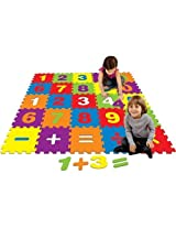 Best Brands Numbers 4' X 4' Interactive Activity Floor Mat