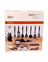 Hampton Forge Essex 48-Piece Kitchen Starter Set, HMC01B085A