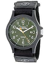 Timex Men's TW4B001009J Expedition Acadia Analog Display Analog Quartz Black Watch