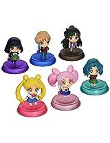 Megahouse Sailor Moon Pretty Soldier Petit Chara Land: More School Life Limited Edition Mini-Figure Set