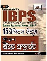 IBPS Bank Clerk Phase I (15 Practice sets) Hindi 2017