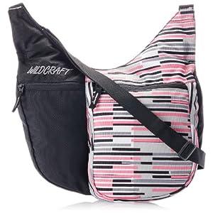 Wildcraft Women's Grabit Bar Polyester Pink Sling Bag (8903338013716)