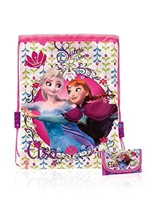 Disney Rucksack + Geldbeutel Frozen Floral