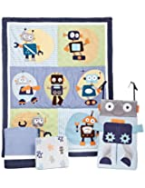 Lambs & Ivy 4 Piece Robbie 1.0 Bedding Set (Discontinued by Manufacturer)