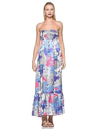 Emamò Vestido Largo Eveline (Multicolor)