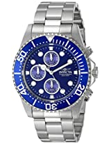 Invicta Pro-Diver Analog Blue Dial Men's Watch - 1769