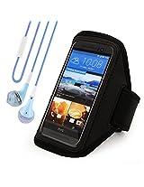 Sumaccn Black Adjustable Running Sports Gym Armband Case Cover